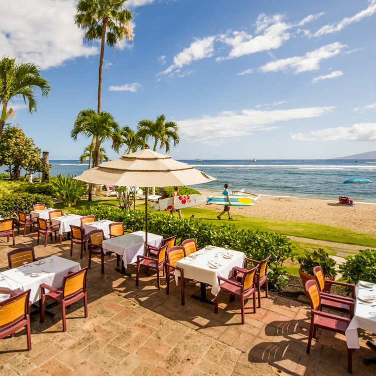 Happy Hour at Pacific'O in Lahaina, Maui, HI