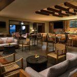 interior of alaloa lounge at ritz carlton kapalua maui - happy hour