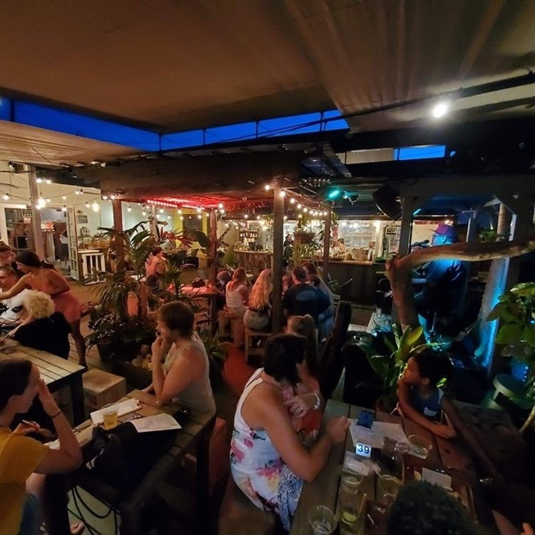 Paia Bay Coffee Bar Happy Hour - Paia, Maui, Hawaii
