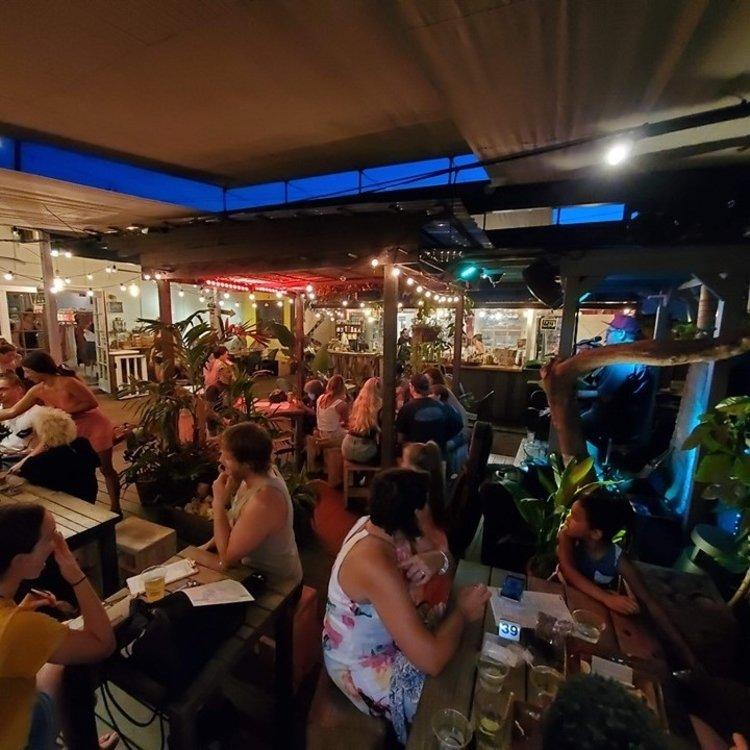 Paia Bay Coffee Bar Happy Hour - Paia, Maui, Hawaii