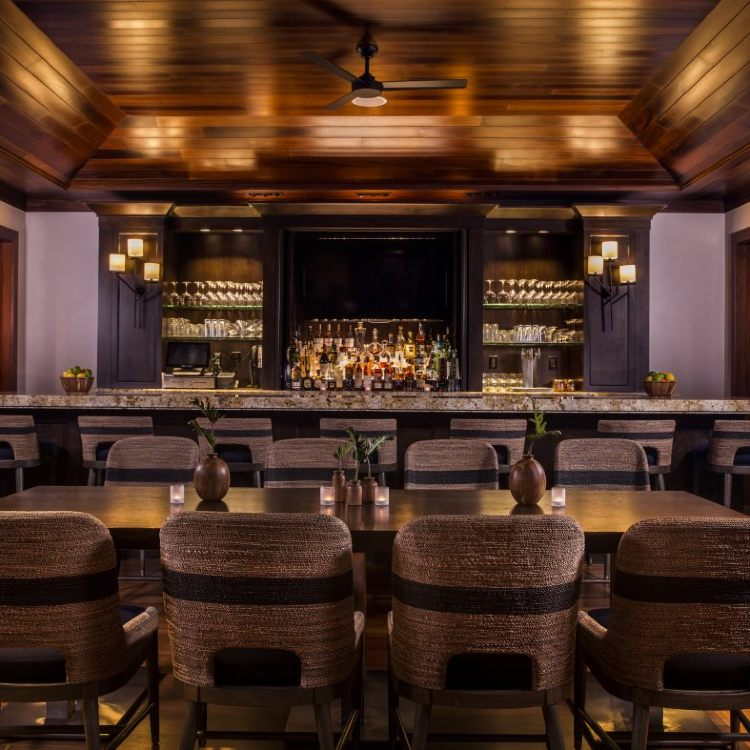 Happy Hour at The Hideaway Bar at Montage Kapalua Maui
