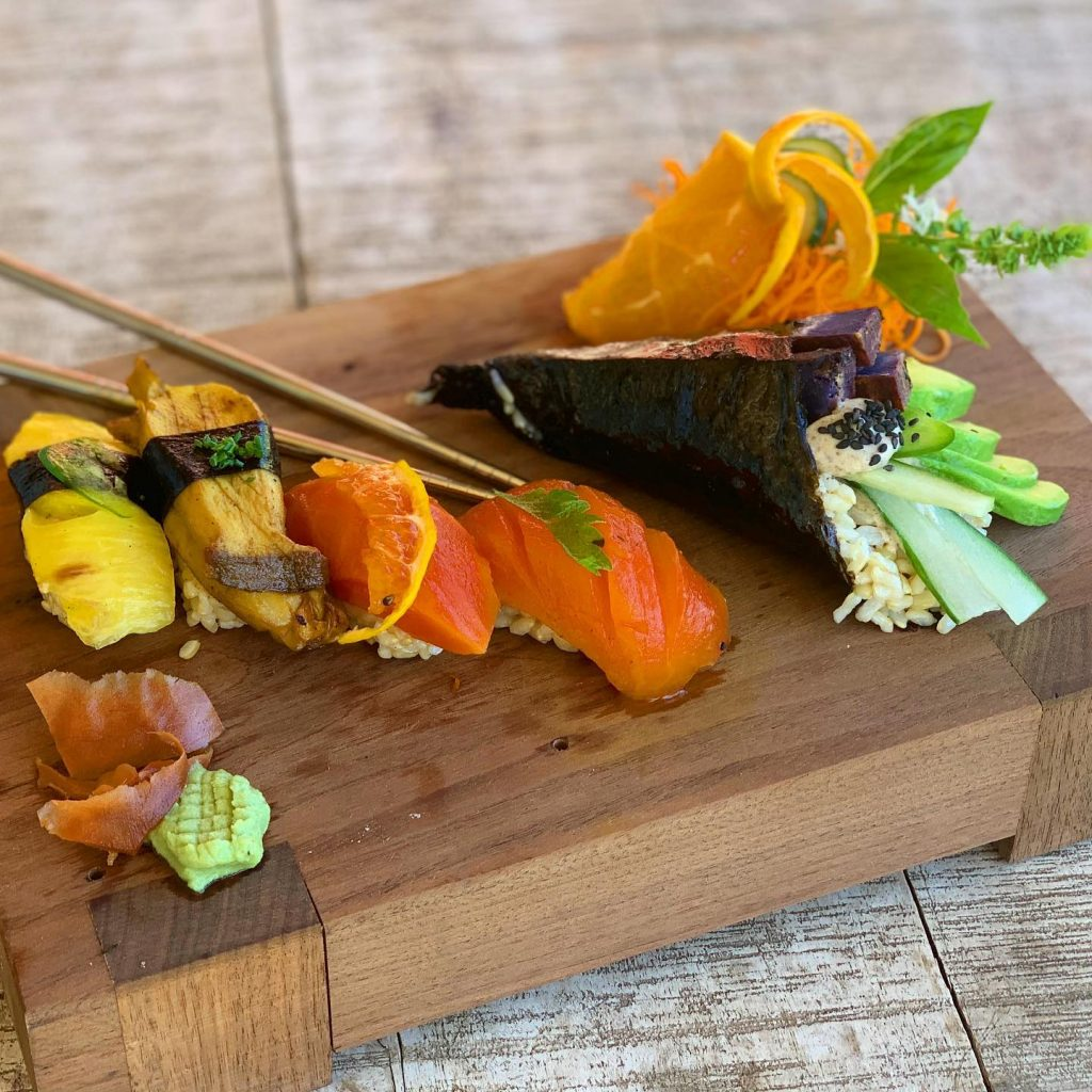 Moku Roots Sushi Happy Hour