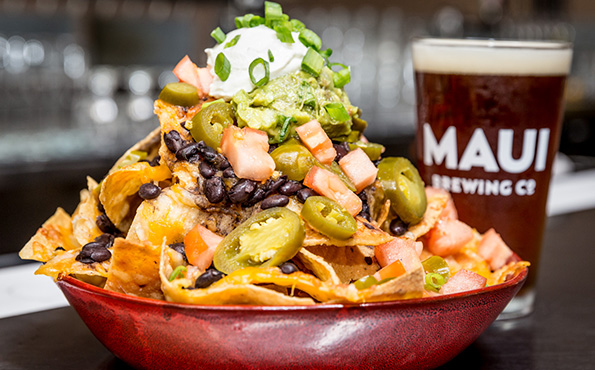 Maui Brewing Happy Hour Nachos