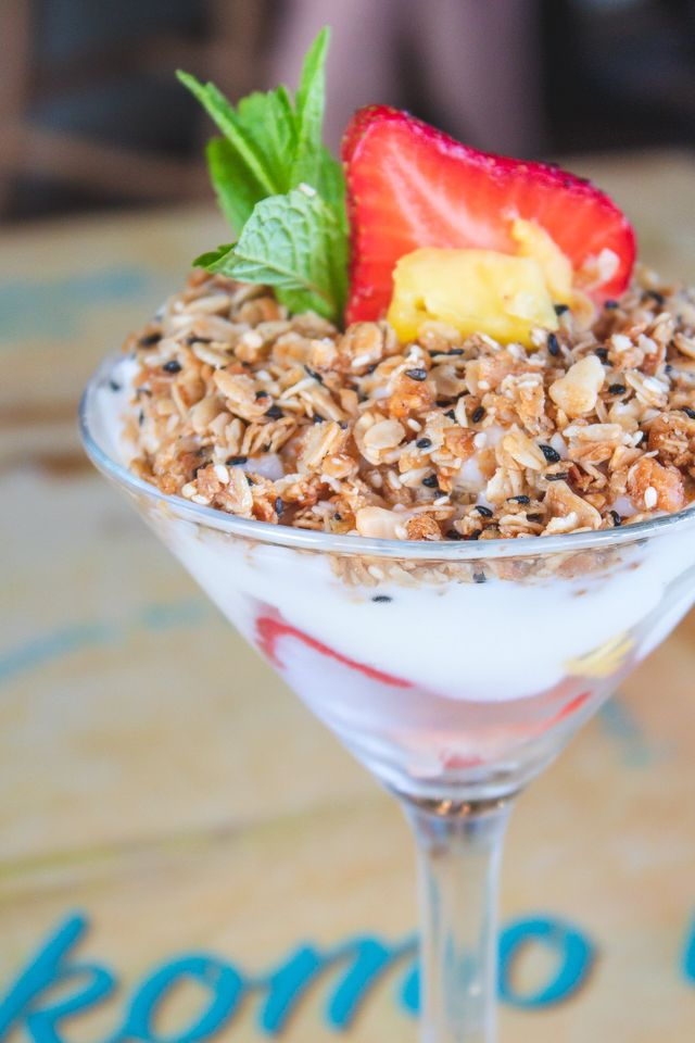 Yogurt Parfait at Castaway Cafe Maui