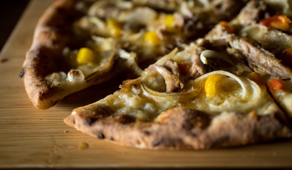 Pizza Close Up - Outrigger Pizza Happy Hour Maui