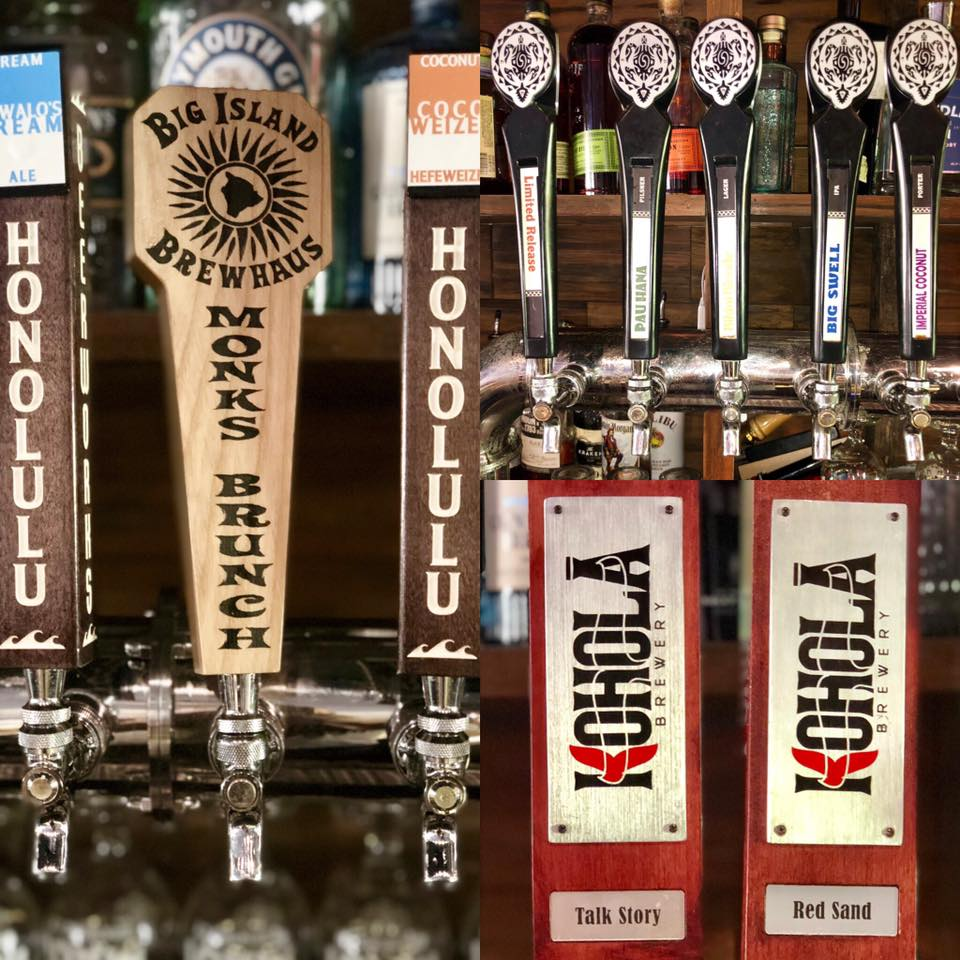 what is the happy hour at pint and cork maui - local hawaii craft beer
