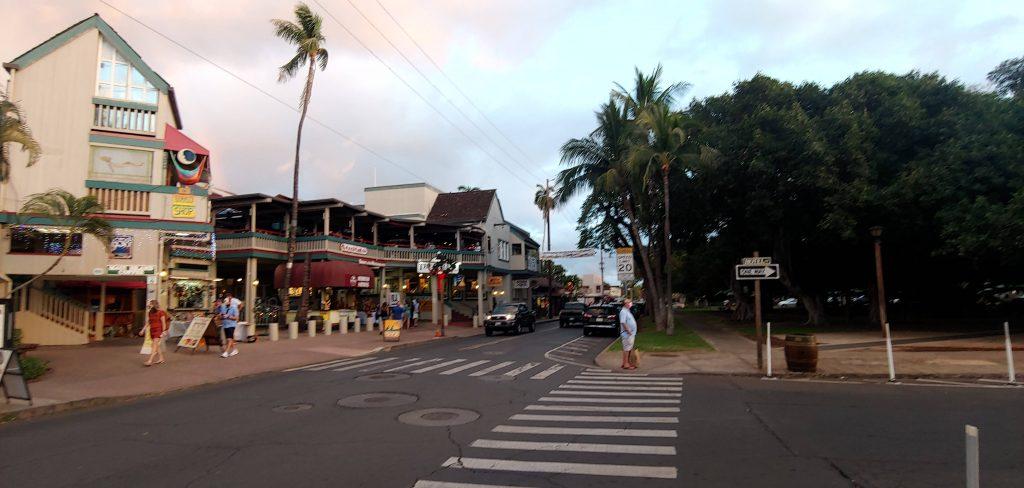 Front Street Lahaina Maui Hawaii