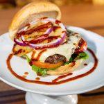Happy Hour Maui Burgers - Aloha Pineapple Burger - Kihei Hawaii