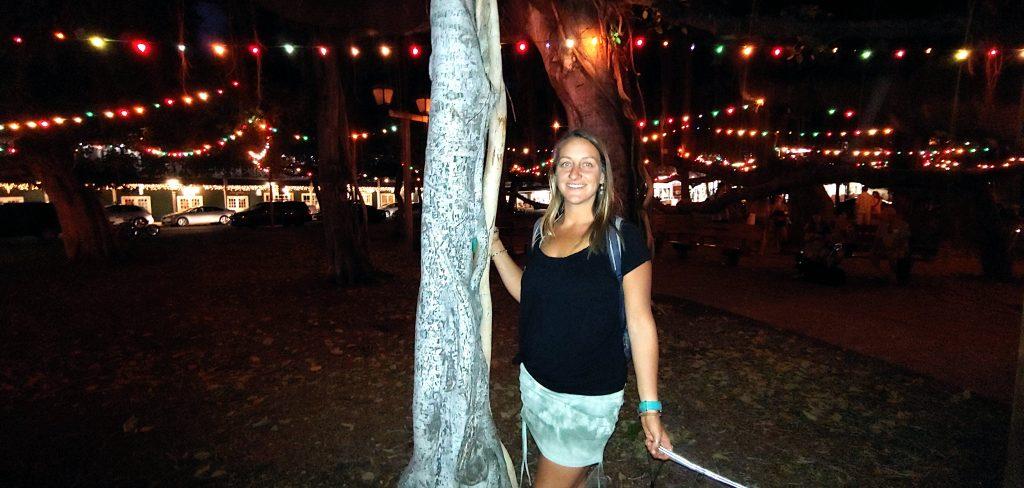 Kayla Delong in Lahaina Maui