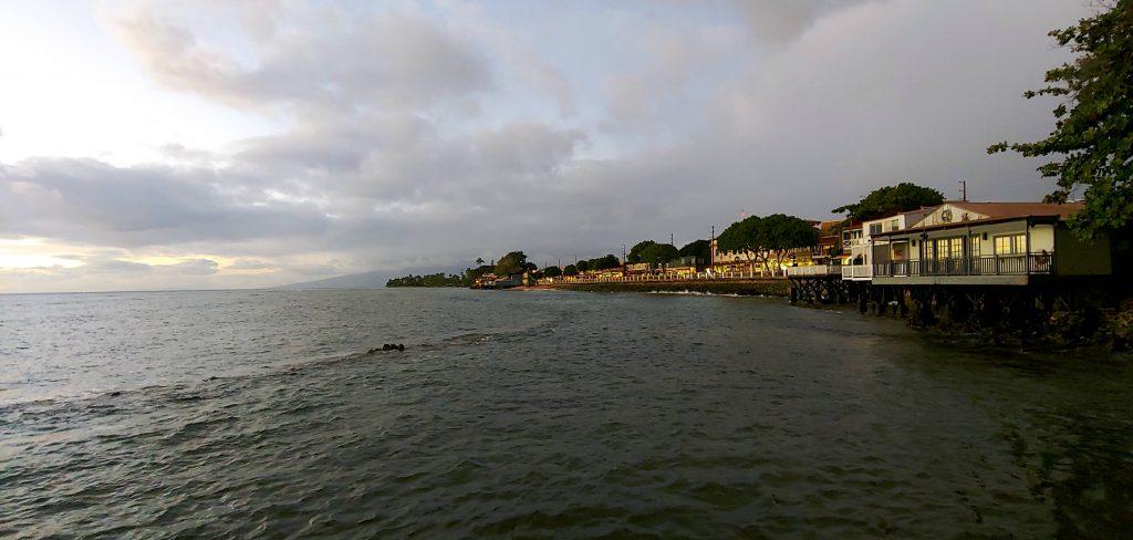 Lahaina Maui Waterfront December 2020