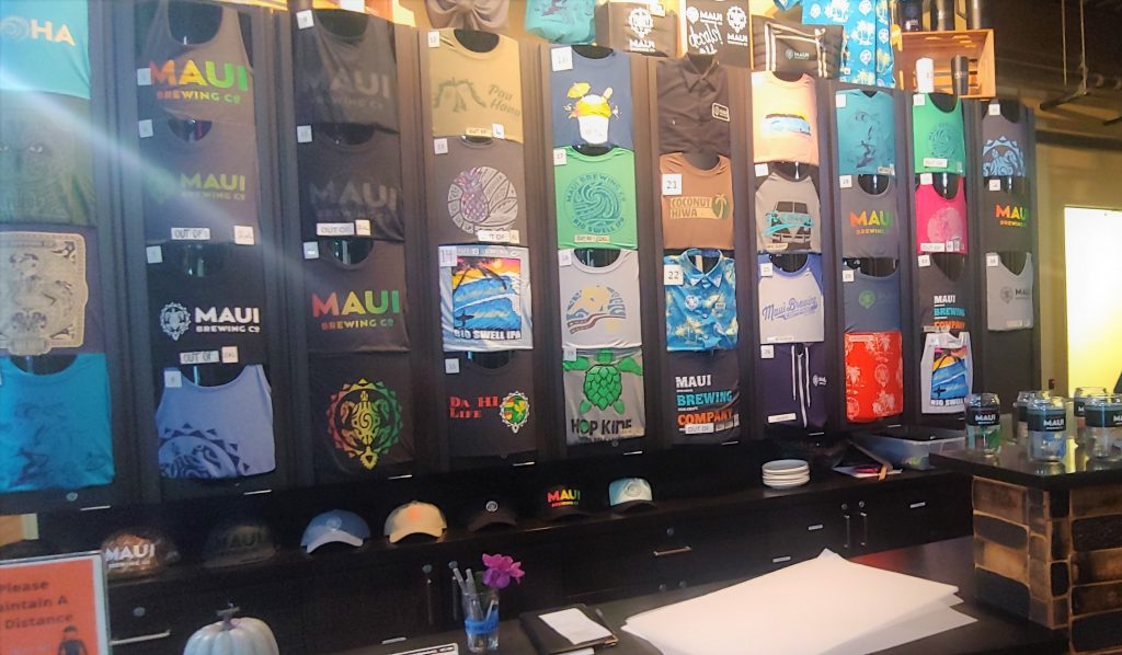 maui brewing co tshirts and hats