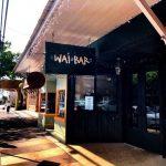 happy hour menu wai bar maui