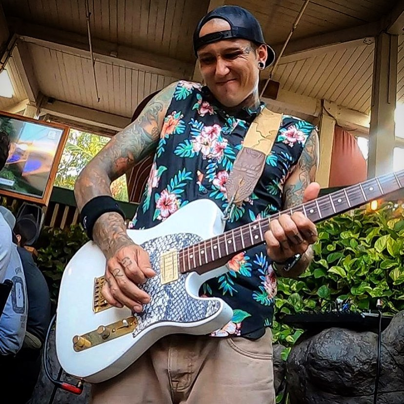 Live music at Down the Hatch Happy Hour Maui - Adrian Trevino Musician