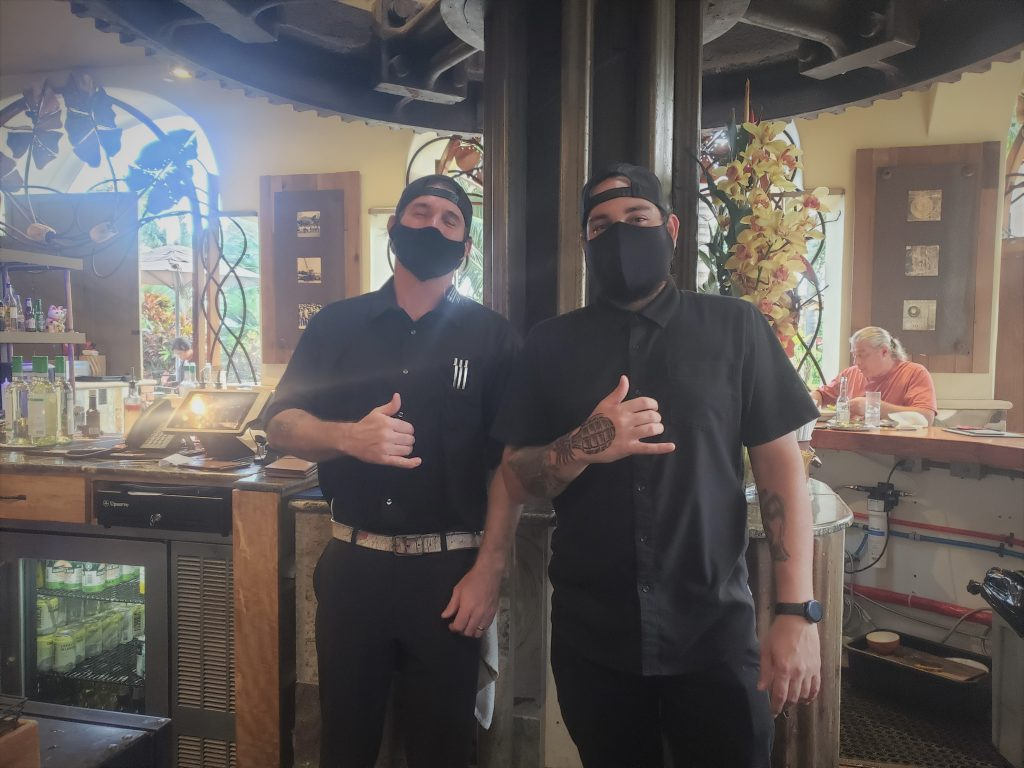 Maui Bartender Dylan Johnson Kihei HI