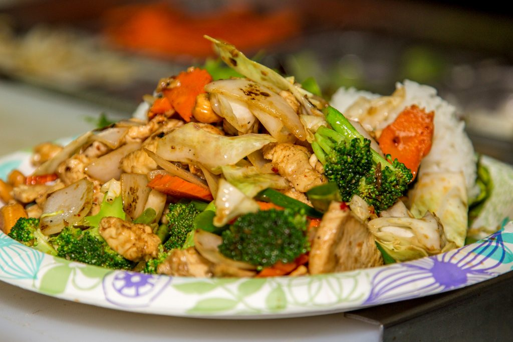 Cashew Stir Fry - Maui Thai Restaurant - Aloha Thai Fusion - Maui Happy Hours