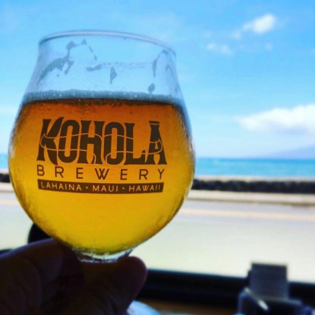 Local Maui Beer - Kohola Brewery Craft Beer - Maui Happy Hours