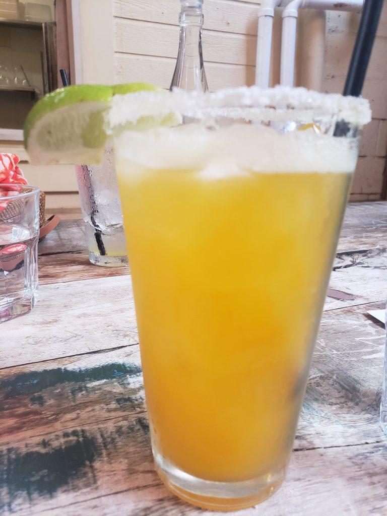 Happy Hour Margarita with Salt