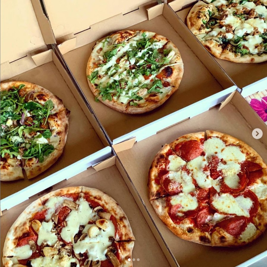Happy Hour Pizzas Togo at Pi Artisan Lahaina