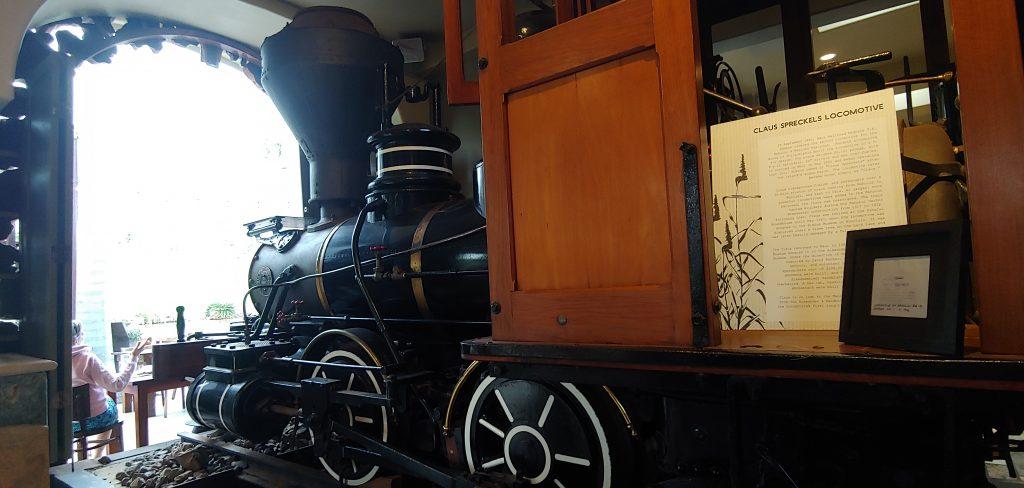 Claus Spreckels Locomotive at Maui Tropical Plantation Hawaii 2021