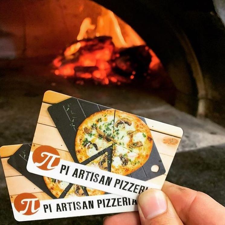 Gift Cards Pi Artisan Brick Oven Pizza Restaurant Maui Hawaii