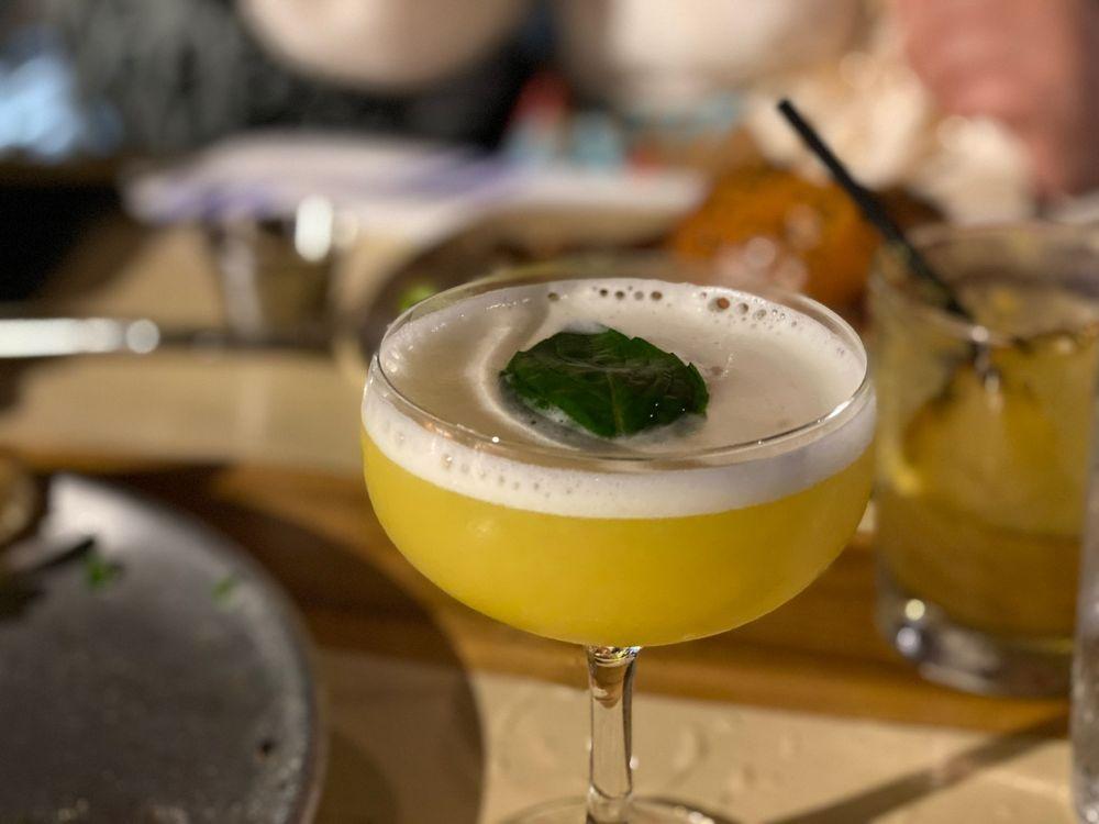 Specialty Craft Cocktail at Monkeypod Restaurant - Maui Hawaii
