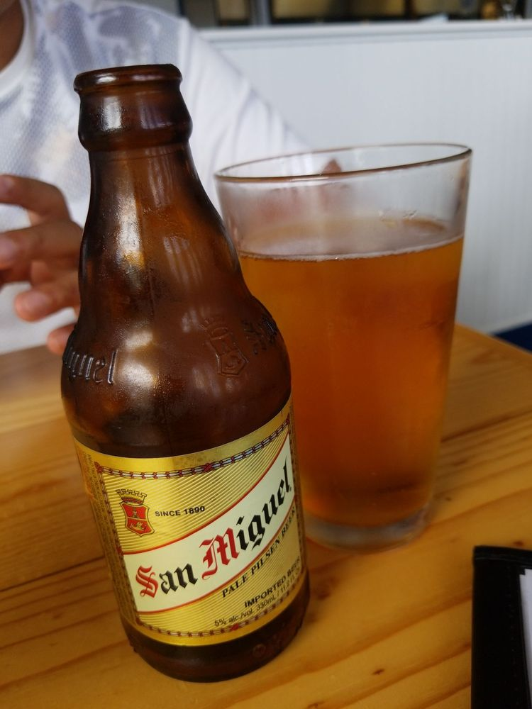 Happy Hour Times at Tantes Maui - Filipino Beer San Miguel