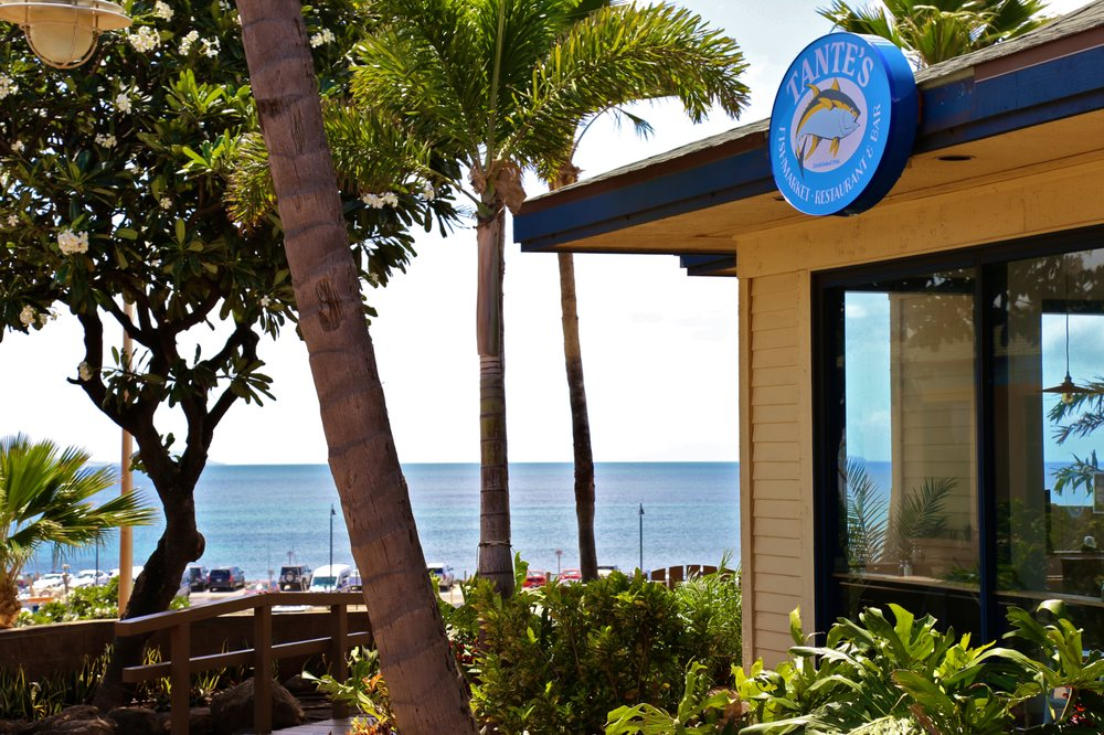 Tante's Fishmarket Restaurant & Bar Maui 2021 Hours
