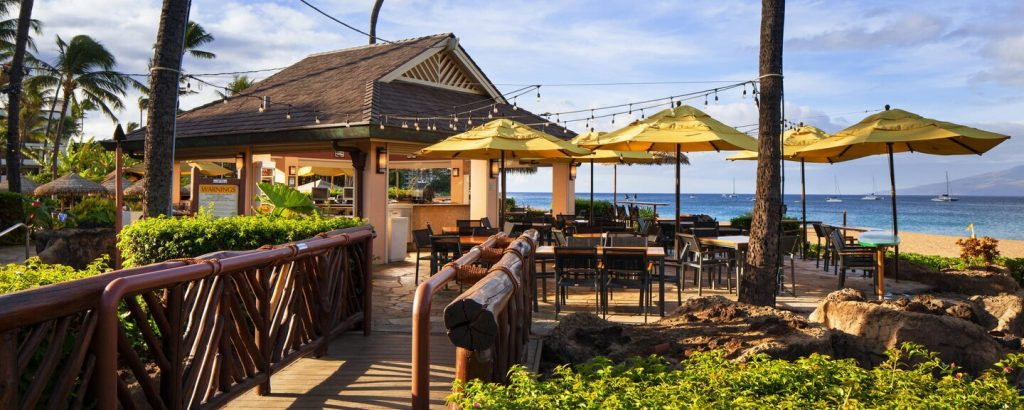 Happy hour times at Cliff Dive Sheraton Maui Bar