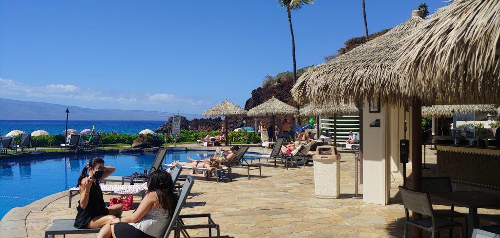 Maui Pool Bars - Cliff Dive Grill at the Sheraton Maui
