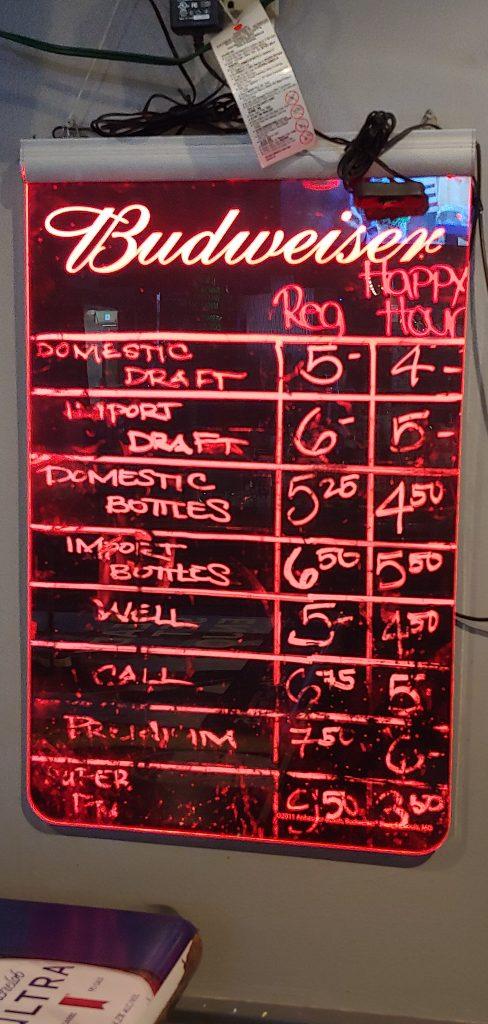 Happy Hour Specials Lahaina Sports Bar