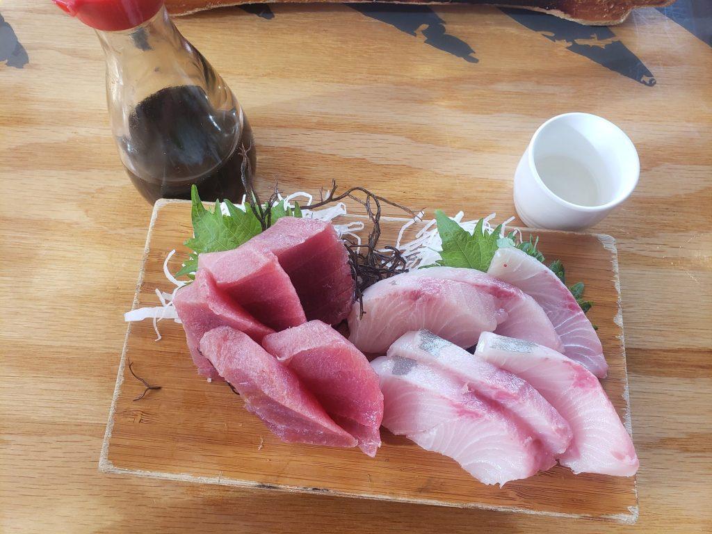 Sashimi Platter at Isana Happy Hour Kihei Maui