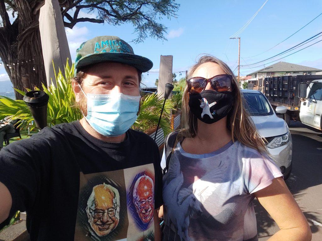 Russell and Kayla Maui