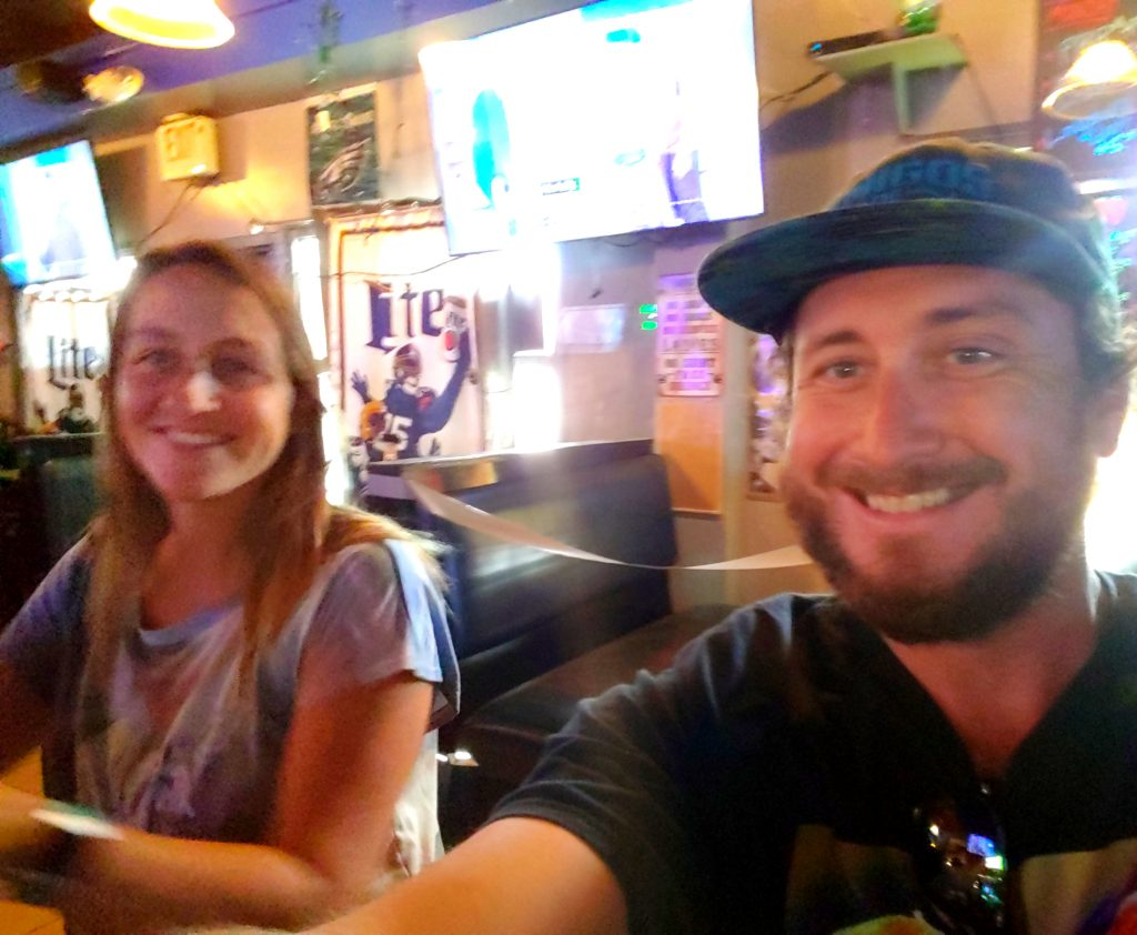Maui Happy Hours Russell and Kayla at Lahaina Sports Bar