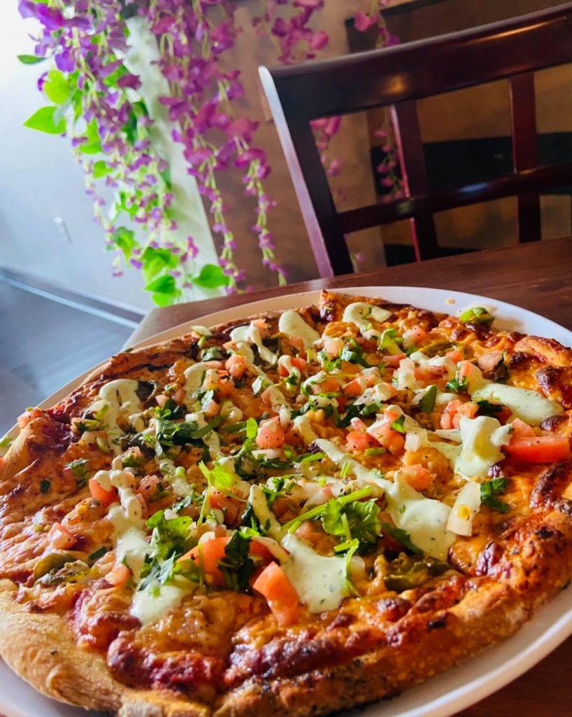 Best Wailea Happy Hours - Delicious Pizza at La Catrina Cantina