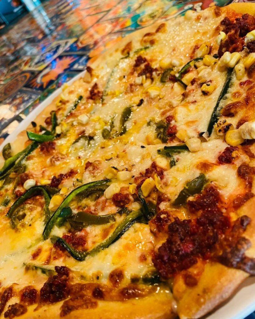 Happy hour pizza specials