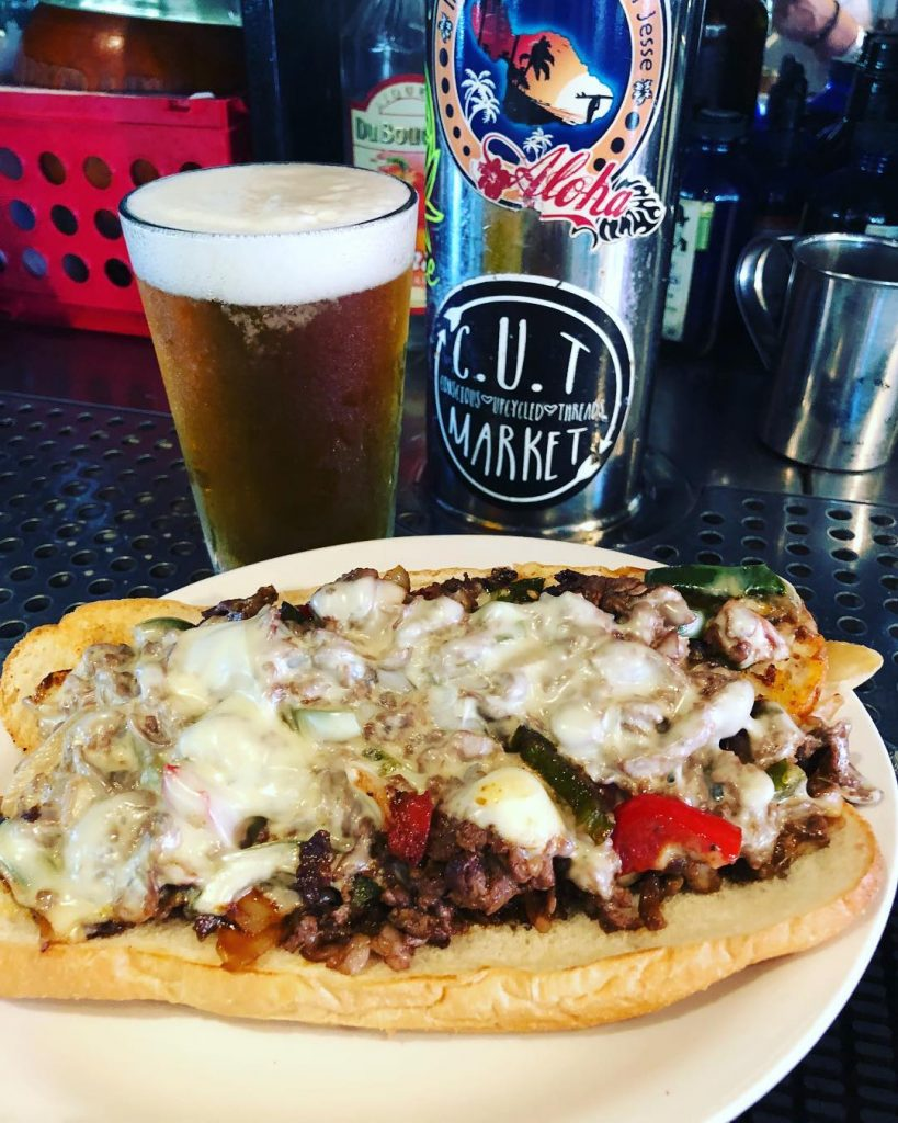 happy hour philly sandwich