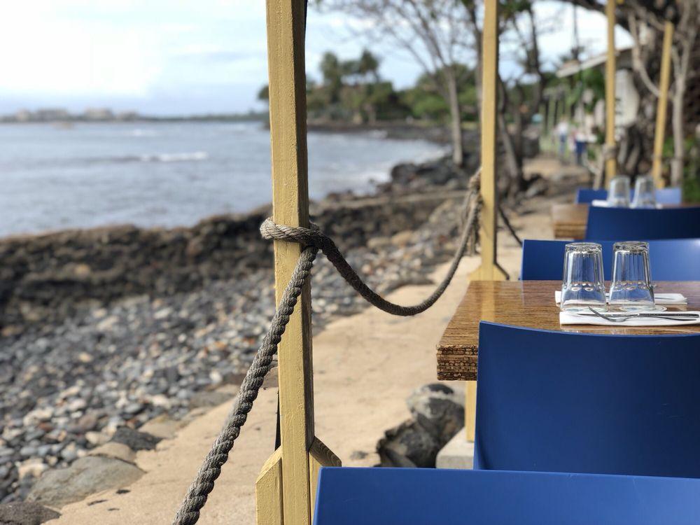 Ocean Front Restaurants Lahaina Maui