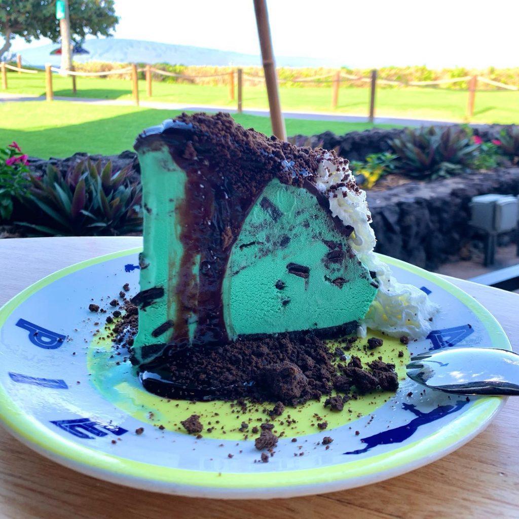 Chocolate Mint Pie Dessert
