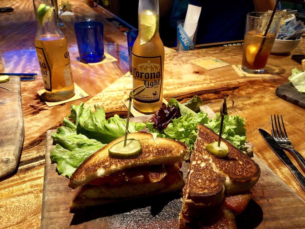 Corona Light and Deli Sandwich