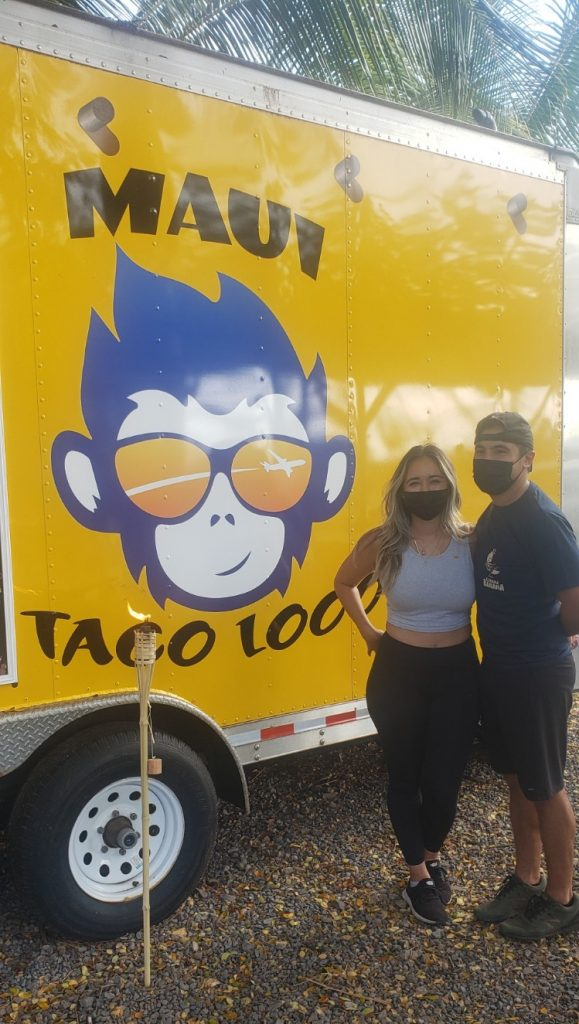 Maui food truck owners from Maui Taco Loco