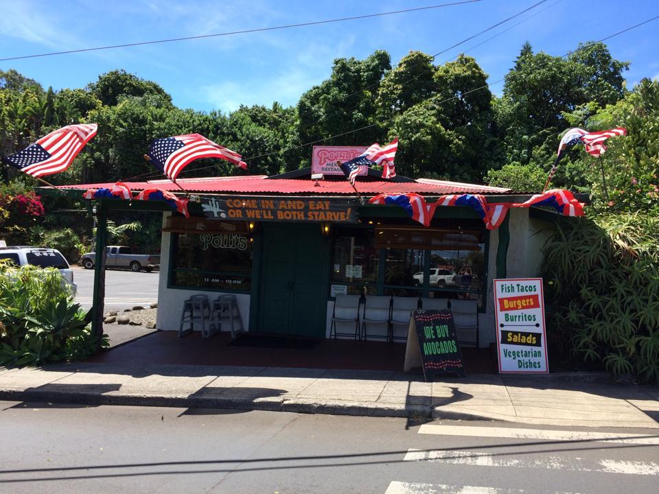 Pollis Bar Happy Hour Makawao