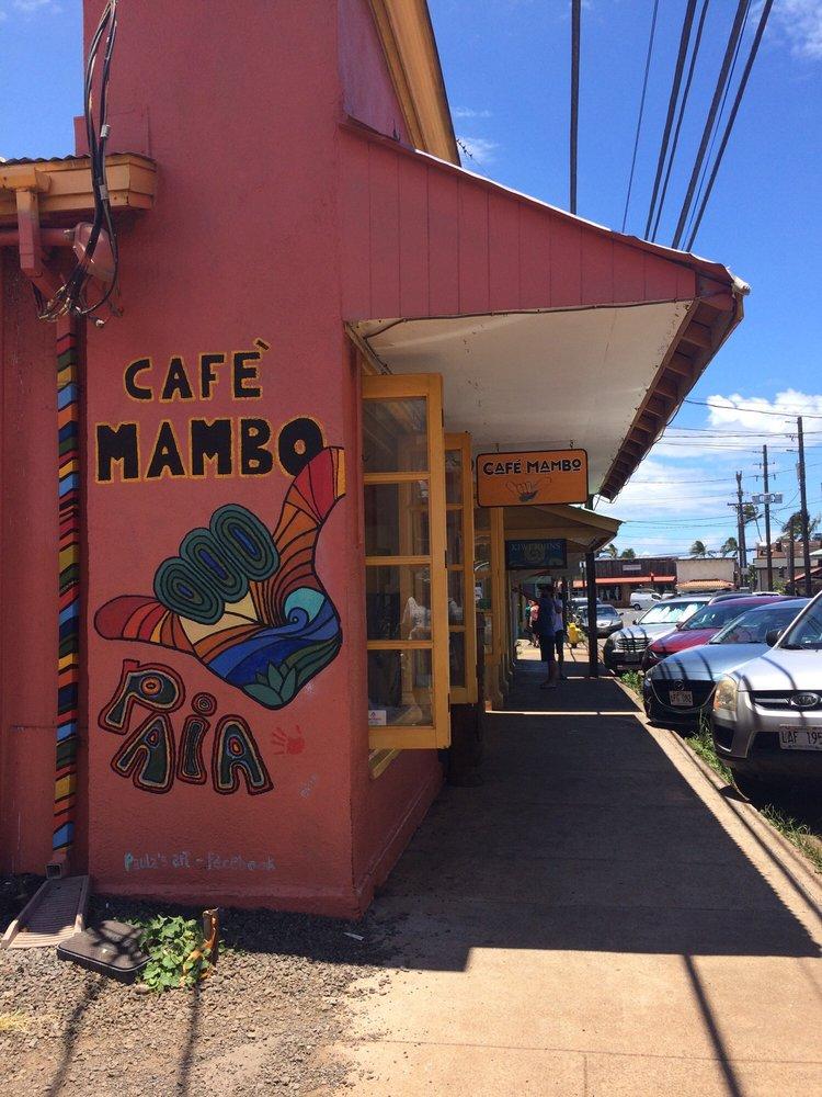 Cafe Mambo Paia Happy Hour