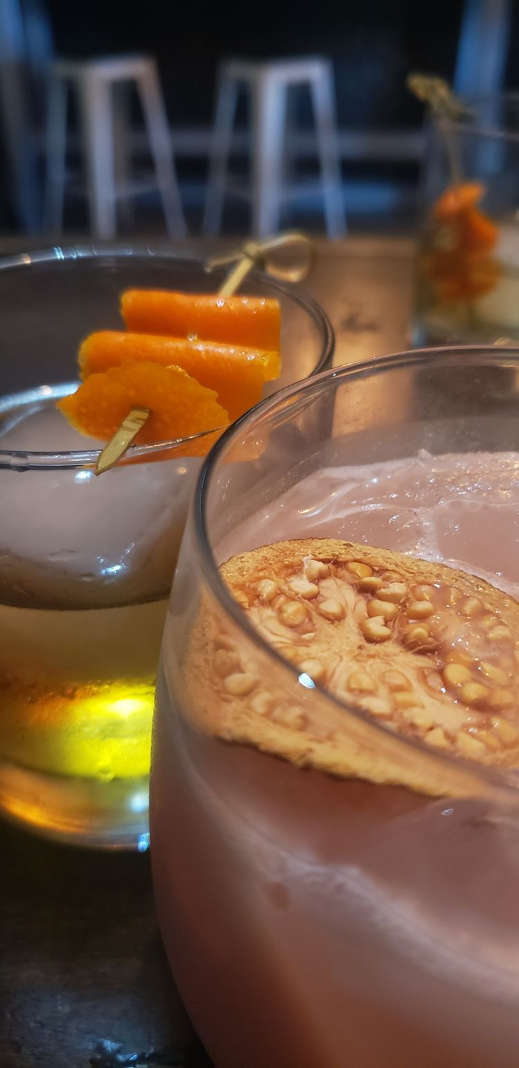 What is the happy hour menu at vibe bar