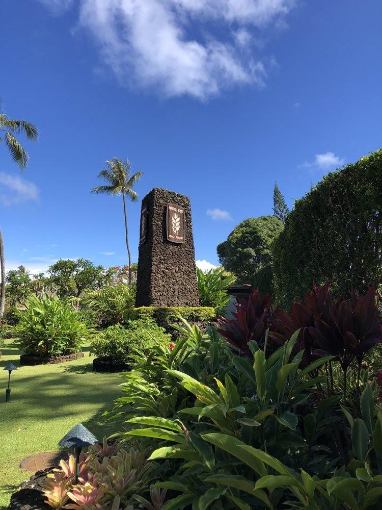 Napili Kai Beach Resort Entrance Maui