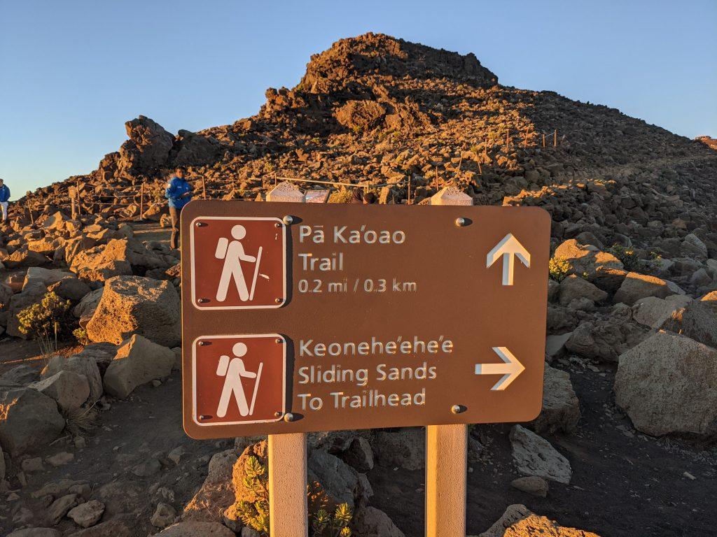 Haleakala Maui hiking trails
