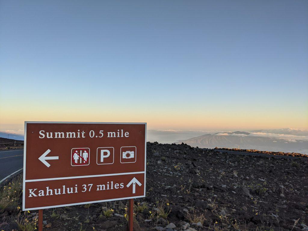 Haleakala Maui sunrise 2021
