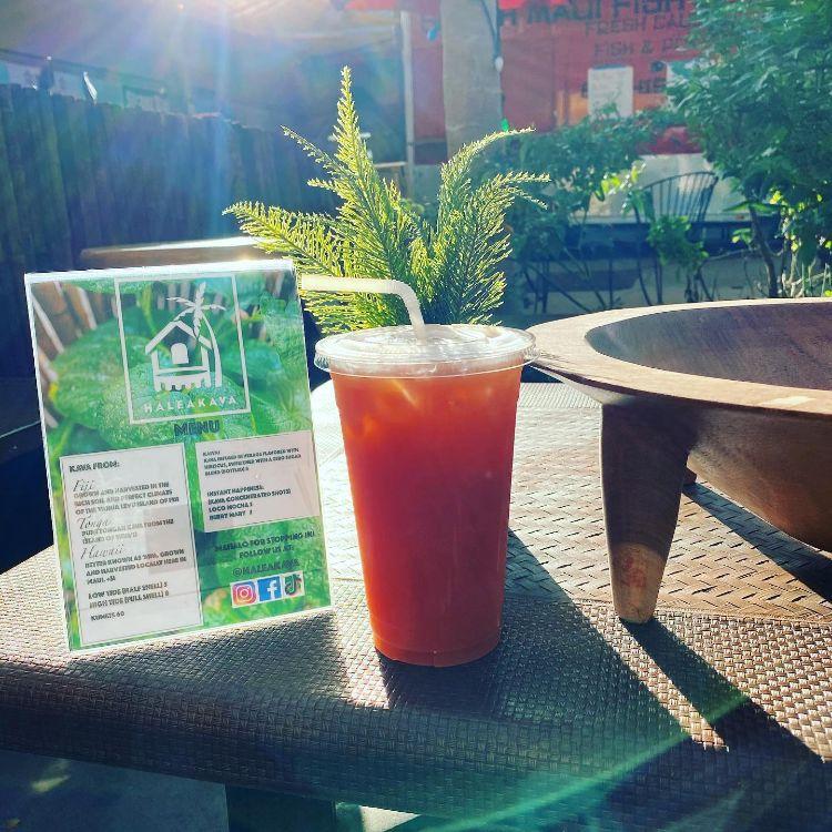 Haleakava Cafe menu
