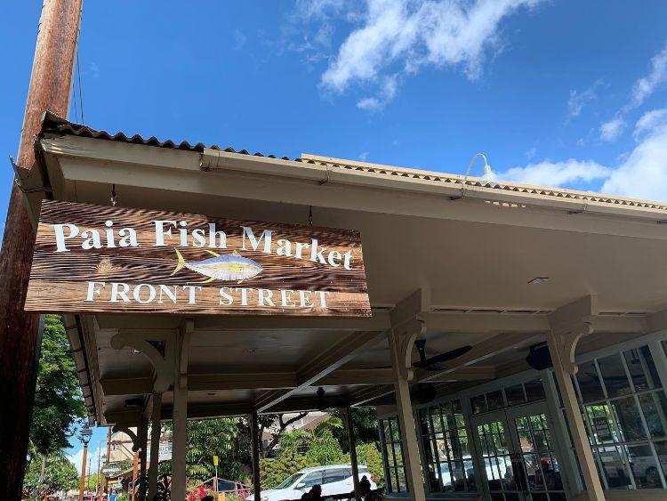 Paia Fish Market - Front Street Lahaina Restaurants