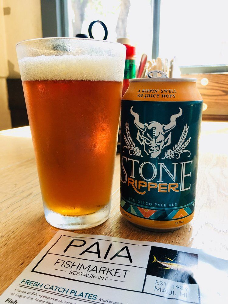 Stone Brewing Ripper craft beer