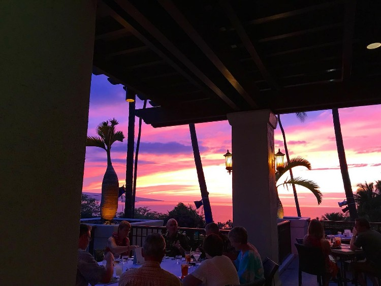 Ocean View Sunset Happy Hour